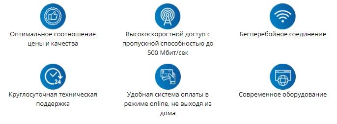 Омские кабельные сети преимущества